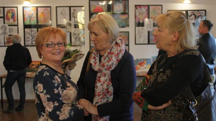 Wernisaż wystawy malarstwa Mileny Kazek